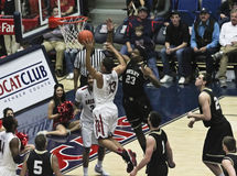 A  Dunk by Arizona Wildcat Nick Johnson Stock Images