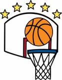 Dunk Basketball Royalty Free Stock Image