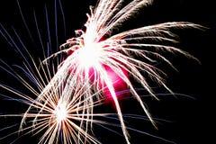 dunkel brandnatt för bakgrund Royaltyfria Bilder