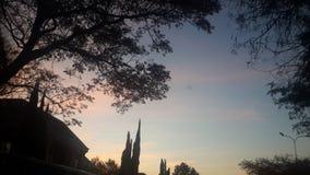 Dunkel eftermiddag Royaltyfri Bild