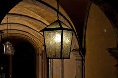 Dunkel lampa Arkivfoto