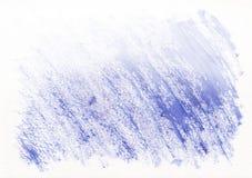Dunkelblaue trockene horizontale gezeichneter Hintergrund des Aquarells Hand Schöne diagonale harte Anschläge des Pinsels Lizenzfreies Stockfoto