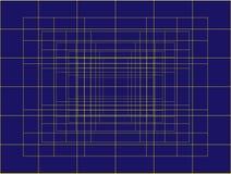 Dunkelblauer abstrakter Hintergrund Stockbild