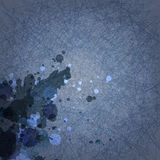 Dunkelblauer Hintergrund des abstrakten Schmutzes mit Kratzer Lizenzfreie Abbildung