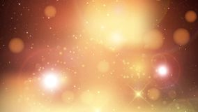 Dunkelblauer Hintergrund mit sternenklarem und Aufflackern stock video footage
