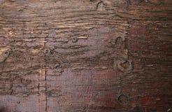 Dunkelbraune Planke stockbilder