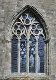 The Dunkeld cathedral window Stock Images
