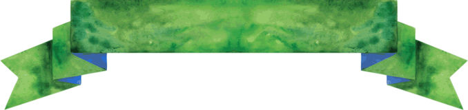 Dunkelgrüne Fahne des Aquarells Auch im corel abgehobenen Betrag Lizenzfreies Stockbild