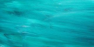 Dunkelgrüner gemalter hölzerner Hintergrund Stockfotografie
