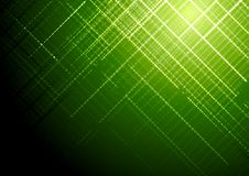 Dunkelgrüner glänzender Technologievektor-Broschürenhintergrund Stockfotografie