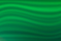 Dunkelgrüner Hintergrund mit hellgrünen Wellen Stockfoto