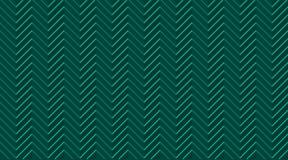 Dunkelgrünes nahtloses Smaragdmuster Chevron-Zickzacks mit hellen Linien lizenzfreie abbildung