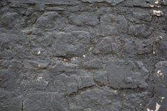 Dunkelgraue Backsteinmauerbeschaffenheit für Hintergrund Lizenzfreies Stockfoto