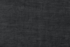 Dunkelgraue Denimbeschaffenheit Lizenzfreie Stockbilder