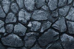 Dunkelgraue Steinwand, großer Entwurf zu irgendwelchen Zwecken Graue Wandhintergrund-Schmutzbeschaffenheit Dunkelgrauer Steinhint stockbild