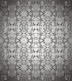 Dunkelgrauer Blumenhintergrundvektor Stockbilder