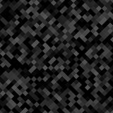 Dunkelgrauer quadratischer Musterhintergrund - geometrisches Vektordesign von den diagonalen Quadraten Stockbild