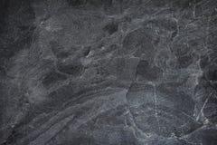 Dunkelgrauer schwarzer Schieferhintergrund oder -beschaffenheit Stockbild