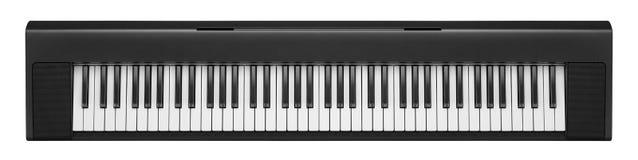 Dunkelgrauer synthesizer Stockbild