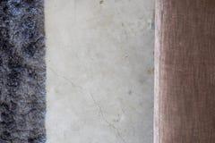 Dunkelgrauer weicher Teppichzementboden von oben stockbilder