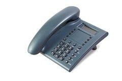 Dunkelgraues Telefon Stockfoto