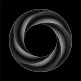 Dunkelheit überlagerter Ring vektor abbildung
