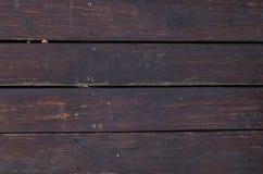 Dunkelrote alte hölzerne Beschaffenheit Lizenzfreies Stockfoto