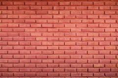 dunkelrote Backsteinmauer für Muster und Hintergrund Lizenzfreies Stockbild