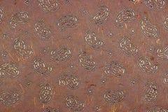 Dunkelrotes Papier-BAC Browns Garnet Redwood Indian Textured Handmade Stockfotografie