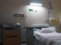 Dunkelt Litsjukhusrum royaltyfria foton