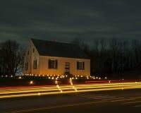 Dunker-Kirche an Antietam-Schlachtfeld in Sharpsburg, MD stockfotos