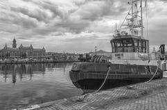 Dunker Tugboat Helsingborg Stock Image