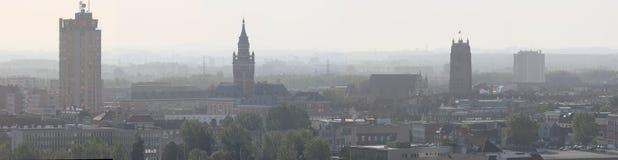 Dunkerke panoramica del centro Fotografia Stock Libera da Diritti