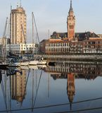 Dunkerque harbour Royalty Free Stock Images
