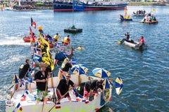 Dunkerque : Tasse 2015 de CÃ Pinard Photographie stock