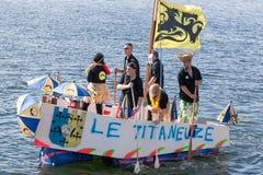 Dunkerque : Tasse 2015 de CÃ Pinard Photo stock