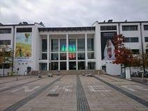 Dunkers kulturhus i Helsingborg Arkivbild