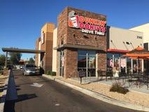 Free Dunkin Donuts Drive Thru. Royalty Free Stock Image - 95724546