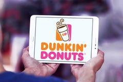 Dunkin donuts logo Fotografia Stock