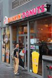Dunkin Donuts Royalty Free Stock Photo