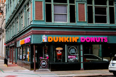 Dunkin' Donuts Providence, RI. Stock Images