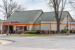 Dunkin ` Donuts restauraci lokacja Zdjęcia Royalty Free