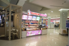 Dunkin' Donuts restaurant in Thailand Stock Photo