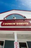 Dunkin Donuts sklep Obrazy Stock