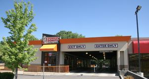 Dunkin Donuts Storefront Royalty Free Stock Images