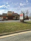 Dunkin' Schaumgummiringshop Lizenzfreies Stockbild