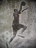 dunking streetball Стоковое Фото
