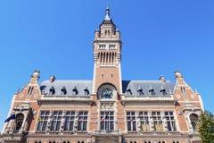 Dunkirk City Hall. Dunkirk, Hauts-de-France, France royalty free stock photos