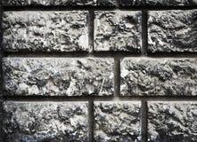 Dunkle alte Backsteinmauer für Beschaffenheit oder Hintergrund Lizenzfreies Stockbild
