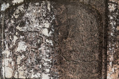 Dunkle alte Schwarzweiss-Beschaffenheit Stockfoto